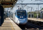 Acela Train 2190 Arrives at Route 128